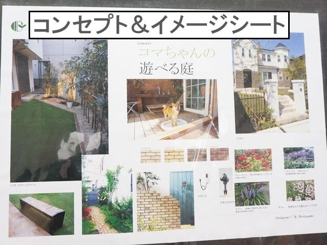 柴犬コマリ 庭リフォーム
